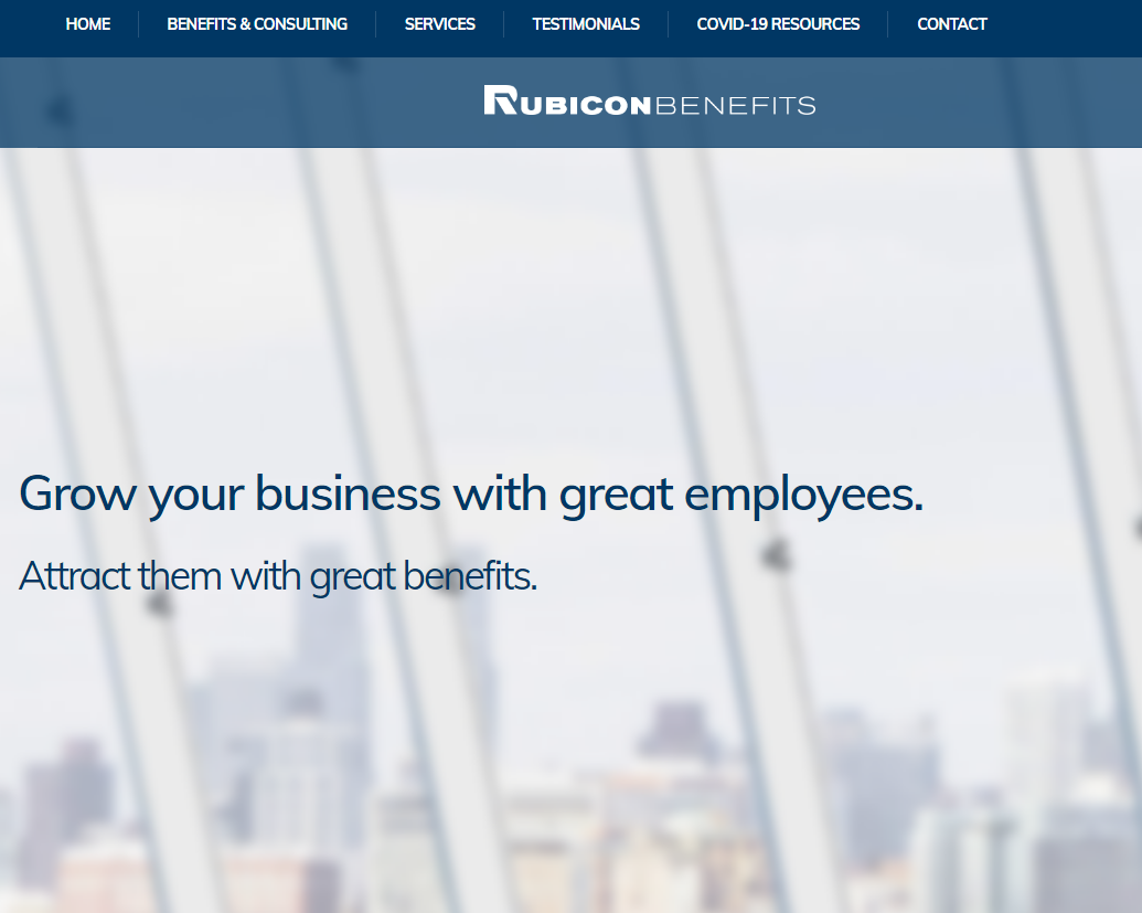 Rubicon Benefits – Educated Advice Informed Decisions